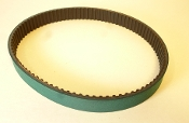 Toothed Replacement Grabber Feed Belt for Schleuniger PS9550 Green