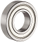 "Replacement for Delta part # 920-04-010-7273 FREE SHIPPING to All 50 States Pair (2) High Quality Bearings for the upper wheel Delta 14"" bandsaws"