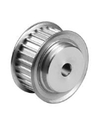 48-5M-15 Aluminum 48 Tooth Pulley with 2 flanges