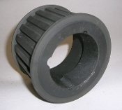 22H200 Steel PULLEY prepaired for 1610 POGGILOCK SYSTEM P TAPER BUSHING, POGGI P/N 19C02220P PL22H200-5F