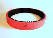 Toothed Replacement Grabber Feed Belt for Schleuniger 9650 Red