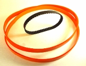 "2 URETHANE BAND SAW TIRE and Toothed Belt for IRONSMITH 9"" BAND SAW"